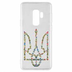 Чехол для Samsung S9+ Квітучий герб України