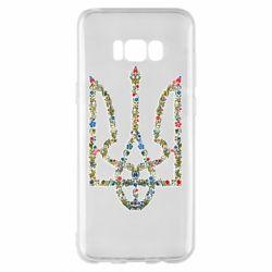 Чехол для Samsung S8+ Квітучий герб України