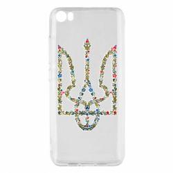 Чехол для Xiaomi Mi5/Mi5 Pro Квітучий герб України