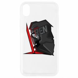 Чехол для iPhone XR Kylo Ren Art