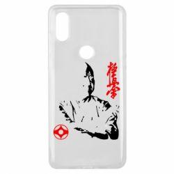 Чехол для Xiaomi Mi Mix 3 Kyokushin Kanku logo