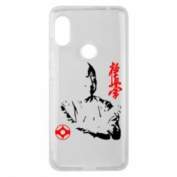 Чехол для Xiaomi Redmi Note 6 Pro Kyokushin Kanku logo