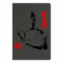 Блокнот А5 Kyokushin Kanku logo