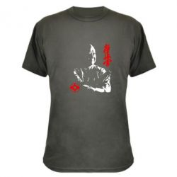 Камуфляжная футболка Kyokushin Kanku logo - FatLine