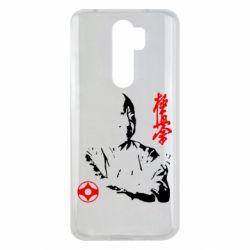Чехол для Xiaomi Redmi Note 8 Pro Kyokushin Kanku logo