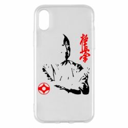 Чохол для iPhone X/Xs Kyokushin Kanku logo