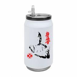 Термобанка 350ml Kyokushin Kanku logo