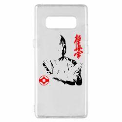 Чохол для Samsung Note 8 Kyokushin Kanku logo