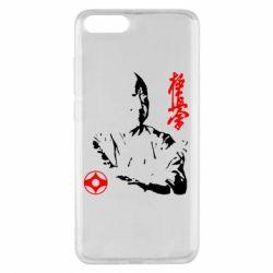 Чехол для Xiaomi Mi Note 3 Kyokushin Kanku logo