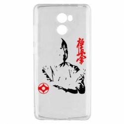 Чехол для Xiaomi Redmi 4 Kyokushin Kanku logo