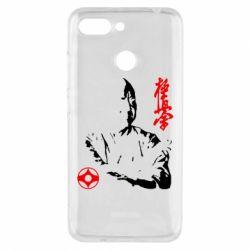 Чехол для Xiaomi Redmi 6 Kyokushin Kanku logo