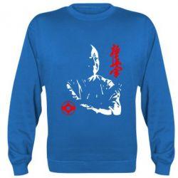 Реглан (свитшот) Kyokushin Kanku logo - FatLine