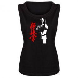 Женская майка Kyokushin Kanku Master - FatLine