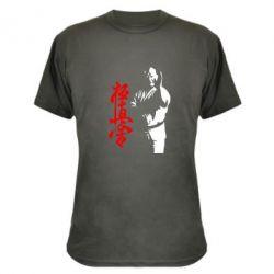 Камуфляжная футболка Kyokushin Kanku Master - FatLine