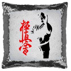 Подушка-хамелеон Kyokushin Kanku Master