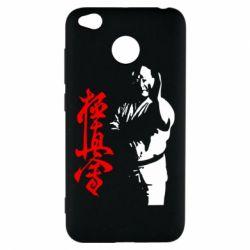 Чехол для Xiaomi Redmi 4x Kyokushin Kanku Master