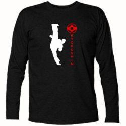 Футболка с длинным рукавом Kyokushin Kick - FatLine
