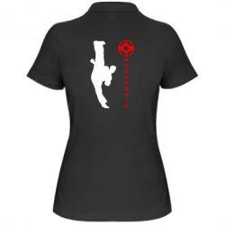 Женская футболка поло Kyokushin Kick - FatLine