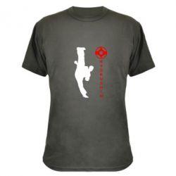 Камуфляжная футболка Kyokushin Kick - FatLine