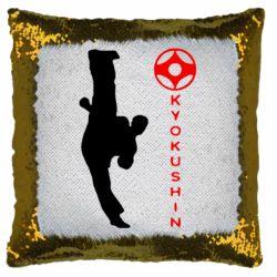 Подушка-хамелеон Kyokushin Kick