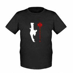 Детская футболка Kyokushin Kick - FatLine