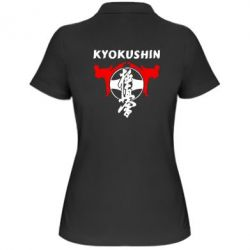 Женская футболка поло Kyokushin - FatLine