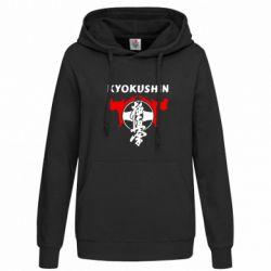 Женская толстовка Kyokushin - FatLine