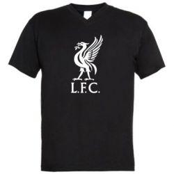 Мужская футболка  с V-образным вырезом L. F. C