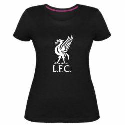 Женская стрейчевая футболка L. F. C