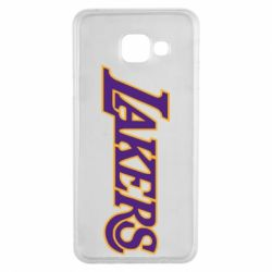 Чехол для Samsung A3 2016 LA Lakers - FatLine