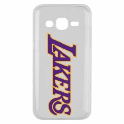 Чехол для Samsung J2 2015 LA Lakers - FatLine