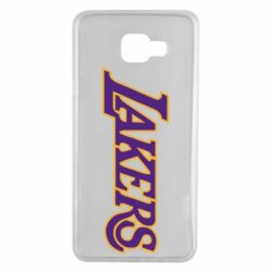 Чехол для Samsung A7 2016 LA Lakers - FatLine