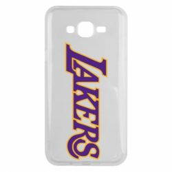 Чехол для Samsung J7 2015 LA Lakers - FatLine
