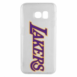 Чехол для Samsung S6 EDGE LA Lakers - FatLine