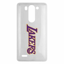 Чехол для LG G3 mini/G3s LA Lakers - FatLine