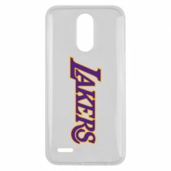 Чехол для LG K10 2017 LA Lakers - FatLine
