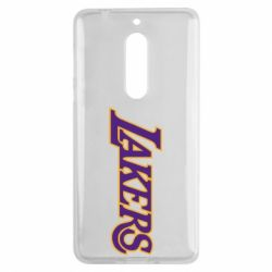 Чехол для Nokia 5 LA Lakers - FatLine