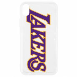 Чохол для iPhone XR LA Lakers
