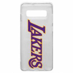 Чохол для Samsung S10+ LA Lakers