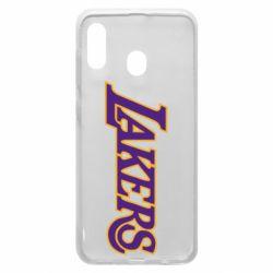 Чохол для Samsung A20 LA Lakers