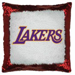 Подушка-хамелеон LA Lakers