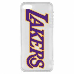 Чехол для iPhone5/5S/SE LA Lakers - FatLine