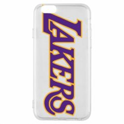 Чехол для iPhone 6/6S LA Lakers - FatLine