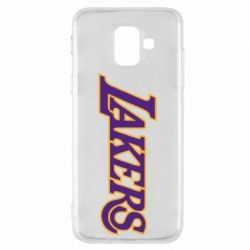 Чехол для Samsung A6 2018 LA Lakers - FatLine