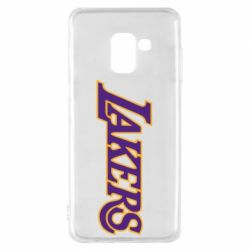 Чехол для Samsung A8 2018 LA Lakers - FatLine