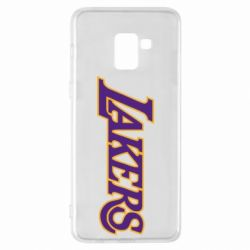Чехол для Samsung A8+ 2018 LA Lakers - FatLine