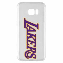 Чехол для Samsung S7 EDGE LA Lakers - FatLine