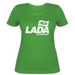 Женская футболка Lada Autosport - FatLine