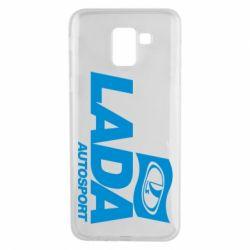 Чехол для Samsung J6 Lada Autosport