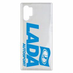 Чехол для Samsung Note 10 Plus Lada Autosport